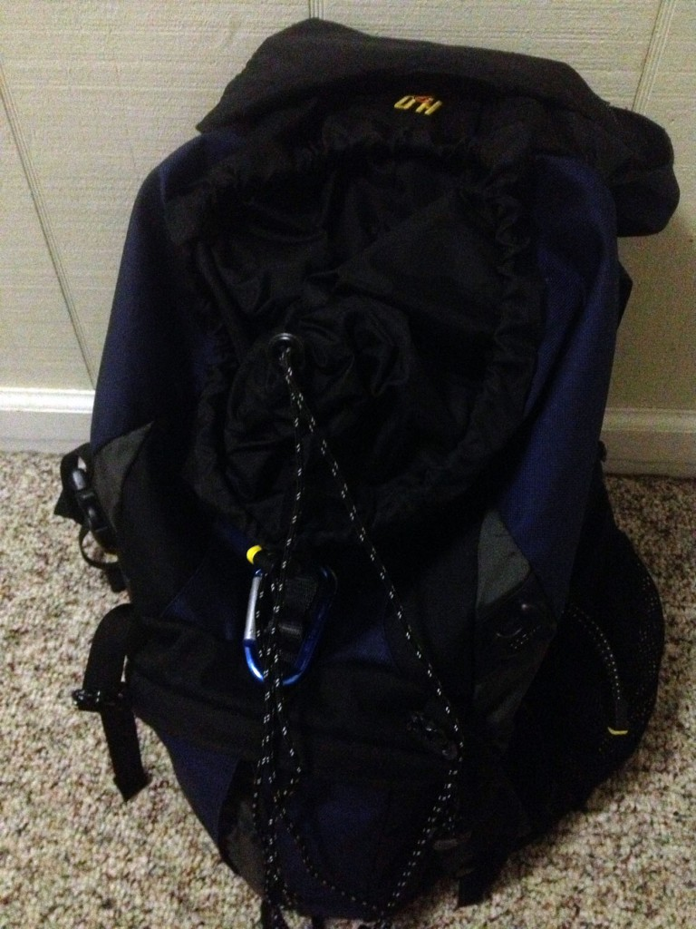 backpacking pack