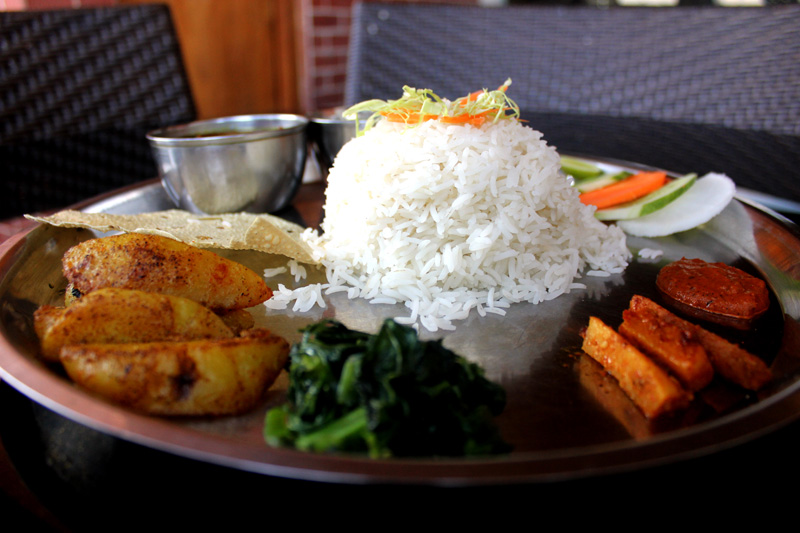 EAT-nepali thakali food